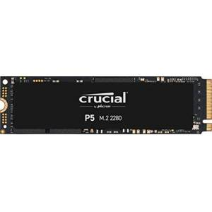 Crucial P5 2 TB CT2000P5SSD8 Internal Solid State Drive-up to 3400 MB/s (3D NAND, NVMe, PCIe, M.2, 2280SS)