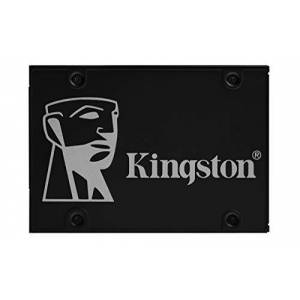 Kingston KC600 SSD SKC600/2048G Internal SSD 2.5 Inch SATA Rev 3.0, 3D TLC, XTS-AES 256-bit Encryption