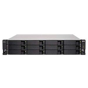 QNAP TL-R1200C-RP 12 Bay Rackmount JBOD Storage Enclosure - with Redundant Power