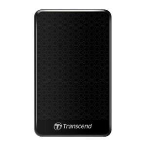 Transcend 2 TB StoreJet 25A3, 2.5 Inch, USB 3.1, micro USB, External Hard Drive - Black