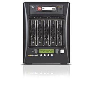 Actidata actiNAS Cube RDX NAS & Storage Server (NAS Desktop Built-in Ethernet Port Black 110000, Hard Disk Drive Serial ATA II Hard Drive, 8GB, 0, 1, 5, 6, 10, JBOD, Intel Celeron)