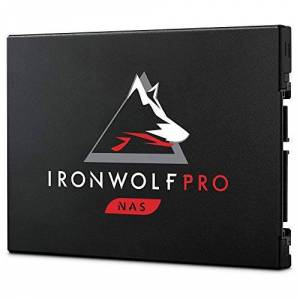 Seagate IronWolf Pro 125 SSD, 1.92 TB, NAS Internal Solid State Drive - 2.5 Inch SATA 6 Gb/s speeds up to 545 MB/s, 1 DWPD endurance, and Three-year Rescue Services (ZA1920NX1A001)