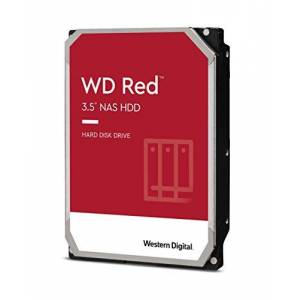 WD-40 WD Red 2TB NAS 3.5 Inch Internal Hard Drive - 5400 RPM Class, SATA 6 Gb/s, SMR, 256 MB Cache- WD20EFAX