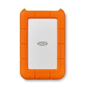 LaCie Rugged Mini 4 TB USB-C + USB 3.0 Portable 2.5 inch External Hard Drive for PC and Mac