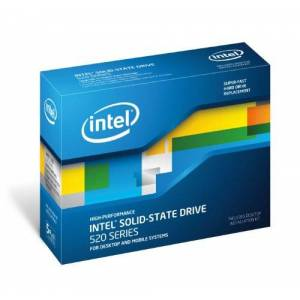 Intel SSD 520 Series 2.5 inch 180GB 6GB/S MLC OEM 25nm Solid State Drive