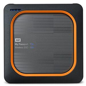 Western Digital WD My Passport Wireless External Portable Solid State Drive - Black, 250GB