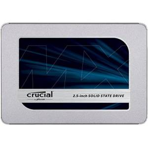 Crucial MX500 2 TB CT2000MX500SSD1-Up to 560 MB/s (3D NAND, SATA, 2.5 Inch, Internal SSD)