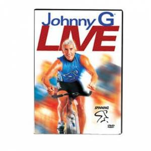 Spinning Unisex's Johnny G Live Indoor Cycling DVD-Multicoloured