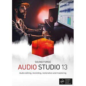 Magix SOUND FORGE Audio Studio 13 1 Device Perpetual License PC Disc