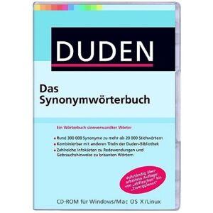 Koch Media Gmbh DUDEN - Das Synonymwörterbuch (PC+Mac+Linux)