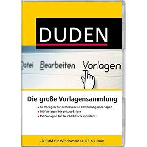Koch Media Gmbh DUDEN - Die große Vorlagensammlung (PC+MAC+Linux)