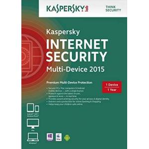 Kaspersky Internet Security 2015 Multi Device: 1 Device, 1 Year [Frustration-Free Packaging] (PC)