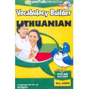 Eurotalk Limited Vocabulary Builder Lithuanian: Language fun for all the family – All Ages (PC/Mac)