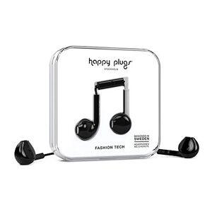 Happy Plugs Earbud Plus Over Ear Headphone - Black