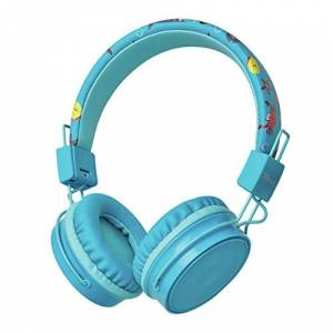 Trust Comi Bluetooth Wireless Headphones for Kids - Blue