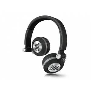 JBL E30 Rotating Soft Cushioned On-Ear Headphones with Detachable Cable with Inline Remote/Mic Compatible with Apple iOS and Android Devices - Black