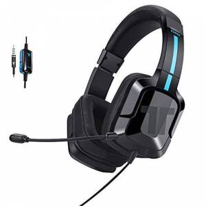 Tritton Kama+ Wired Gaming Headset with Microphone for PC/Mac/PS4/Switch/Mobile Black