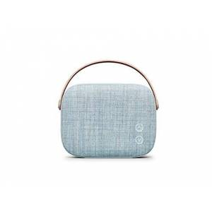 Vifa Helsinki Bluetooth Speaker Nordic Design Perfect Portable Wireless Speaker for Apple iPhone iOS and Samsung Android - Misty Blue