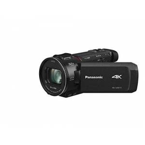 Panasonic HC-VXF11EG-K 4K Camcorder (LEICA DICOMAR Lens with 24x optical zoom and 32x digital zoom and Full HD video, with viewfinder, optical image stabilizer)