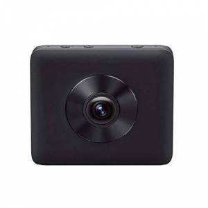Xiaomi MI Sphere Camera KitSports camera Panoramic 360 (3.5K at 30fps, 190, 2Lens Fish Eye Wide Angle F2.0Aperture Frame, Electronic 6-Axis Stabilizer, 23.88MP), Black
