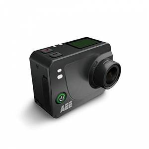 AEE Technology S60 Plus HD LCD TFT Display Time Lapse Action Camera with 40M IP40 Waterproof Case - Black (1080p, 60fps, 16MP, WiFi)