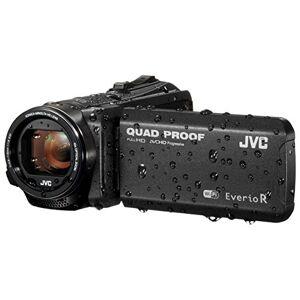 JVC GZ-RX605 FHD Quad-Proof 10MP 40x Zoom Wi-Fi Tough Camcorder - Matt Black