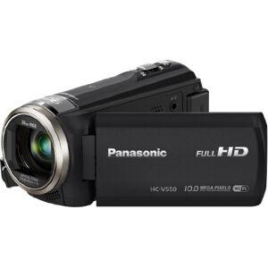 Panasonic hc-v550ctegk-camscope- Black