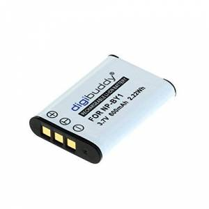 Digibuddy Battery for Sony NP-BY1 Li-Ion Black