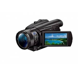 Sony FDR-AX700 4K HDR Camcorder with 273-point Fast Hybrid autofocus system, Super Slow Motion, and S-Log3 - Black