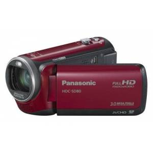 Panasonic SD80EG Full HD Camcorder with Micro SD Card Slot, 34Optical Zoom/7.6cm (3Inch) Touchscreen Display/Image Stabiliser, 3D Compatible)