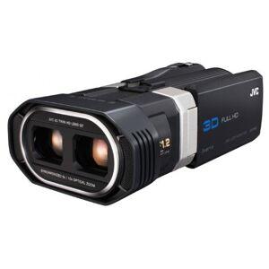 JVC GS-TD1BEU Full HD 3D Camcorder 64 GB Internal Memory 8.9 cm (3.5 Inch) 3D Touch Screen Display Black