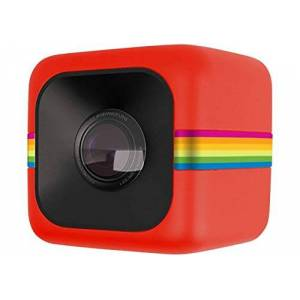Polaroid Cube HD 1080p Lifestyle Action Video Camera (Red)