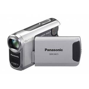 Panasonic HDC-HS20 EG-K Full HD Camcorder (SD/SDHC Card, 80 GB Hard Drive, 16 x Opt. Zoom 6.9 cm (2.7 inch) Display Black