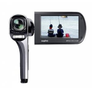 Sanyo VPC-CG100EXBK-B Xacti CG100 Full HD Dual Camcorder with 14M Photos and HDMI - Black