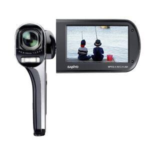 Sanyo VPC-CG100EXBK-B Xacti CG100 Full HD Dual Camcorder with 14M Photos and HDMI - Black