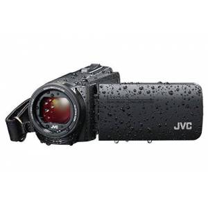 JVC GZ-R495 HD Quad-Proof 40x Zoom Tough Camcorder - Black