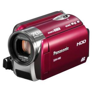 Panasonic SDR-H80 EG-K SD/HDD Camcorder (SD/SDHC-Card, 60 GB Hard Drive, 70 x Optical Zoom, 6.9 cm (2.7 Inch) Display
