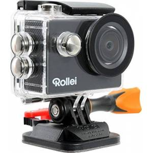 Rollei Actioncam 300 Plus - 720p HD Video Resolution with Underwater Case and Bobber - Black