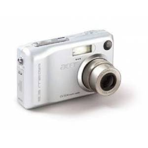Acer CS-5530 - Digital Camera - 5.2 Mpix - optical zoom: 3 x - supported memory: SD - silver