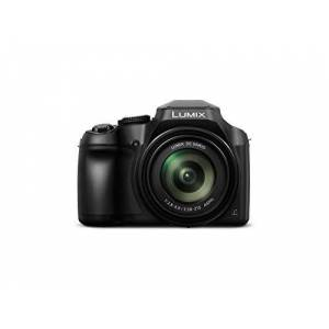 Panasonic LUMIX DC-FZ82EB-K Digital Bridge Camera with Ultra Wide 20-1200 mm Lens - Black