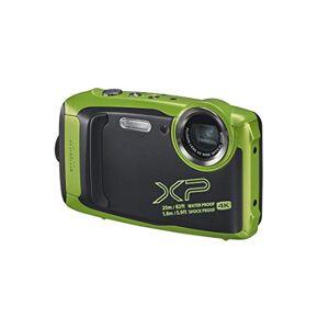 Fuji FinePix XP140 Compact Digital Camera, Lime