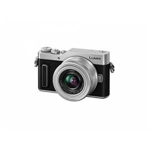 Panasonic Lumix Compact Hybrid Camera DC-GX800KEFK + Lumix 12-32 F3.5-5.6 (4/3 16MP Sensor, incline screen. Tact, AF DFD, 4K Video, Creative Selfie Modes, Wifi) Black - French Version