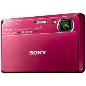 Sony DSCTX7R Cyber-shot Digital Camera - Red (10.2 MP, 4x Optical Zoom) 3.5 inch LCD