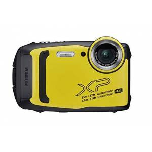 Fuji FinePix XP140 Compact Digital Camera, Yellow