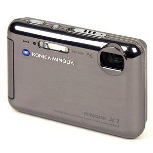 Konica Minolta Dimage X1 Digital Camera 8 Megapixels Black