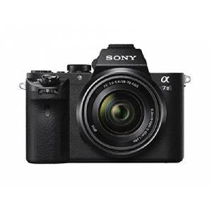 Sony Alpha 7 II Full-Frame Mirrorless Camera with Sony 28-70 mm f/3.5-5.6 Zoom Lens ( 24.3 Megapixels, Fast Hybrid Autofocus, 5-axis in-body optical image stabilisation, XAVC S Format Recording )