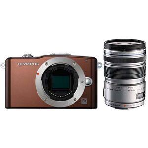 Olympus PEN E-PM1 Camera Mirrorless, CMOS 12.3 MP, Kit with Lens M.Zuiko ED 12-50mm f1:3.5-6.3 EZ