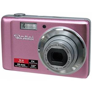 Rollei Compactline 360 TS Digital Camera 12 Megapixel 4x Optical Zoom 28 mm Wide Angle Lens 7.62 cm 3.0 Inch Touchscreen Display