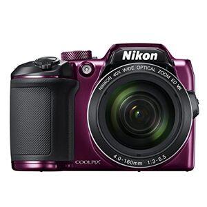 Nikon B500 Coolpix Digital Compact Camera - Plum