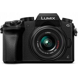 Panasonic Lumix DMC-G7 + 14-42mm II + 45-150mm MILC 16.00MP Live MOS 4592 x 3448pixels Black - Digital Camera (16.00 MP, 4592 x 3448 Pixels, Live MOS, 4K Ultra HD, Touch Screen, Black)